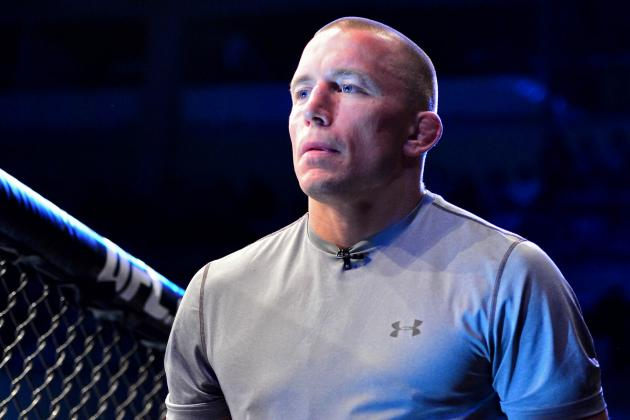 Georges St-Pierre Says He Has Obsessive-Compulsive Disorder