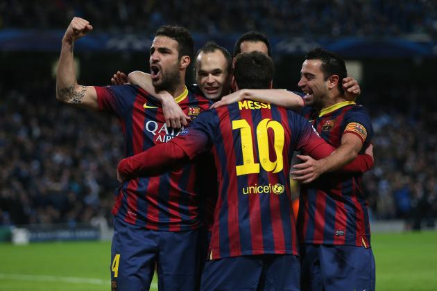 Champions League 2014 Round of 16: Teams That Have Most to Lose
