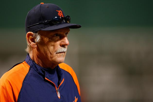 Jim Leyland Arrives at Detroit Tigers Camp, but Plans to Stay 'Out of the Way'