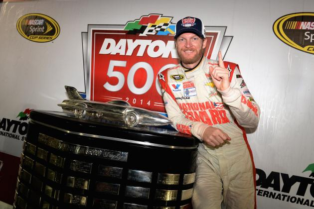Hendrick Motorsports' Dale Earnhardt Jr. Wins Daytona 500 After 9-Year Drought