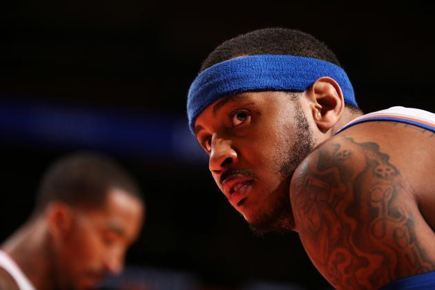 The New York Knicks Are Wasting Carmelo Anthony's Best Season