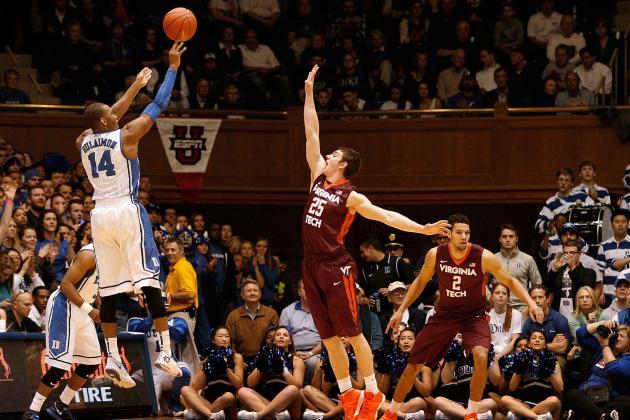 Duke Handles Overmatched Hokies 66-48