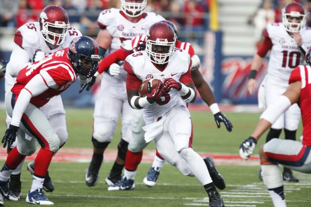 Arkansas Football: Alex Collins Set for an Even Bigger Year in 2014