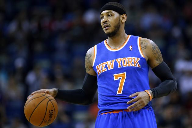 Money Alone Won't Be Enough to Keep Carmelo Anthony with New York Knicks