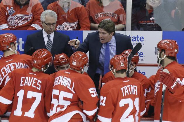 Sochi Olympics Still Sore Subject for Most in Detroit Red Wings Locker Room