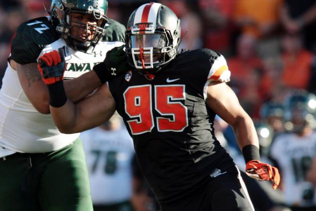 Scott Crichton NFL Draft 2014: Highlights, Scouting Report for Vikings DE