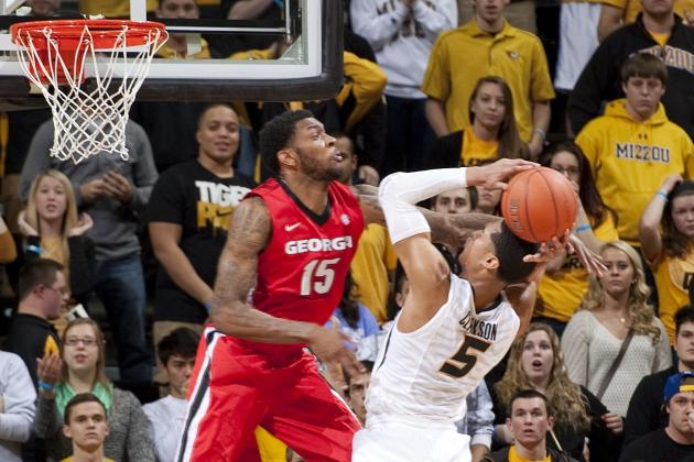 Missouri Does Major Damage to Its Tournament Hopes by Losing to Georgia