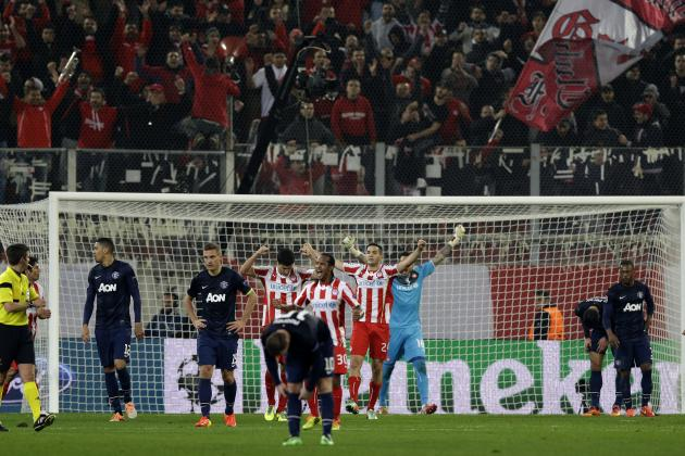 Manchester United Ripped by Media After Champions League Loss to Olympiakos