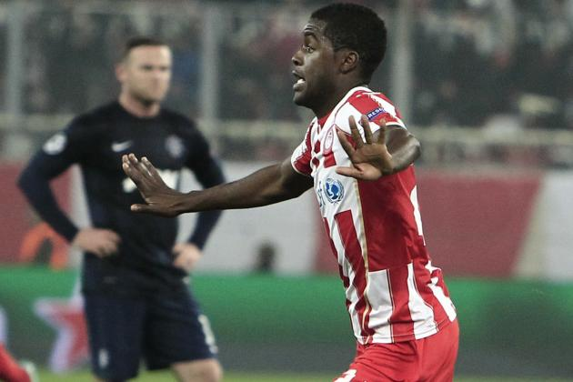 Arsenal Transfer News: Olympiakos' Joel Campbell Wants Gunners Return