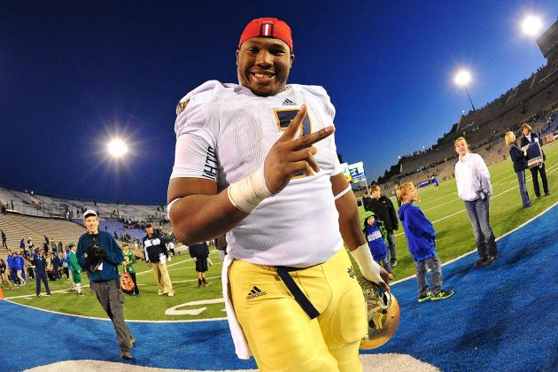 Fracture Costs Tuitt Golden Opportunity at NFL Combine