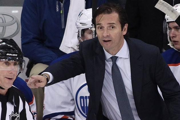 GM MacTavish 'Strongly' Believes Eakins Will Coach Oilers 'For a Longtime'