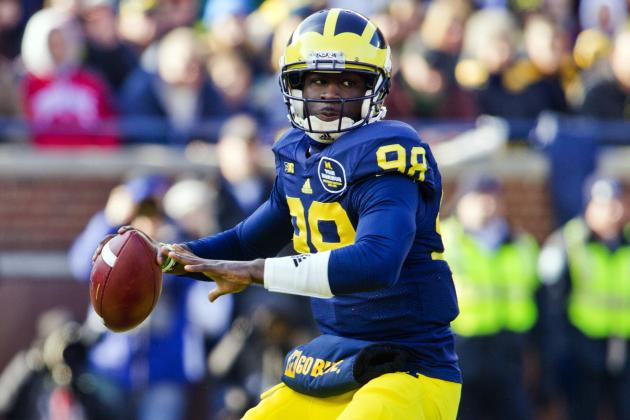 Michigan Football: Devin Gardner Returns to Practice, Expects to Win QB Job