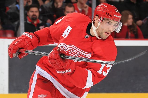 Pavel Datsyuk and Johan Franzen Will Play Tonight vs. Canadiens