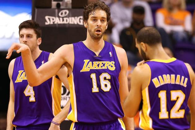 Pau Gasol Says Los Angeles Lakers Lack Discipline