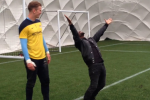 Watch Kevin Hart's Amazing Penalty Kick Goal