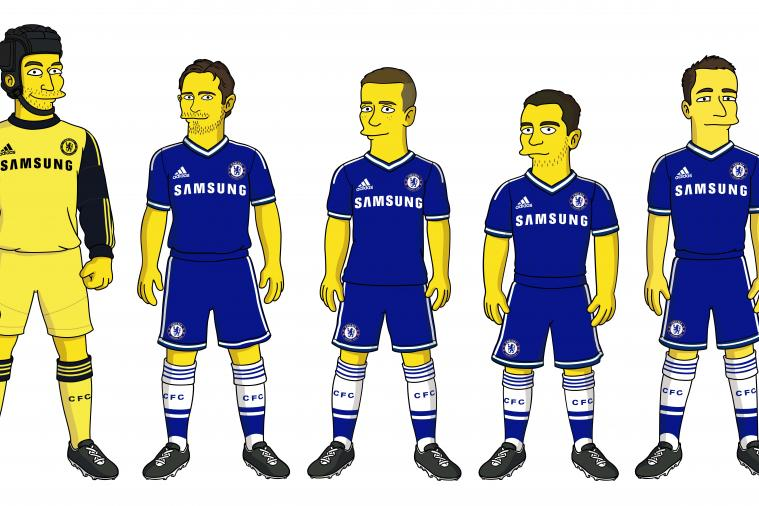 Chelsea Players to Star in an Episode of the Simpsons