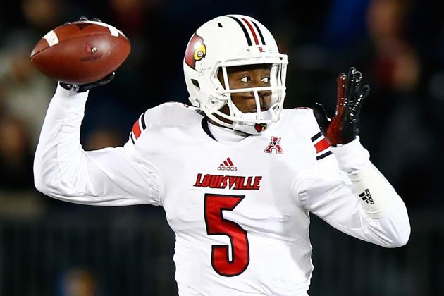 Teddy Bridgewater's Consistent Improvement at Louisville Will Trump Combine Flop