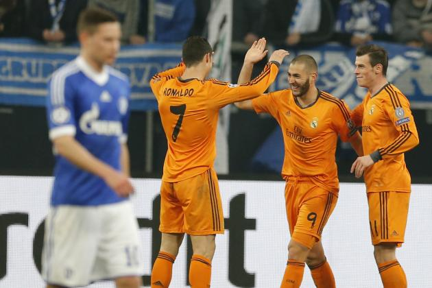 Schalke vs. Real Madrid Score, Grades and Post-Match Reaction
