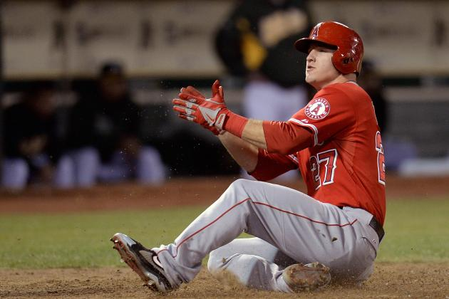 Mike Trout Signs for Pre-Arbitration Record $1 Million Contract