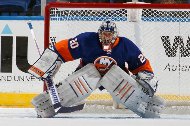 New York Islanders' Evgeni Nabokov Approaches 350 Career NHL Wins