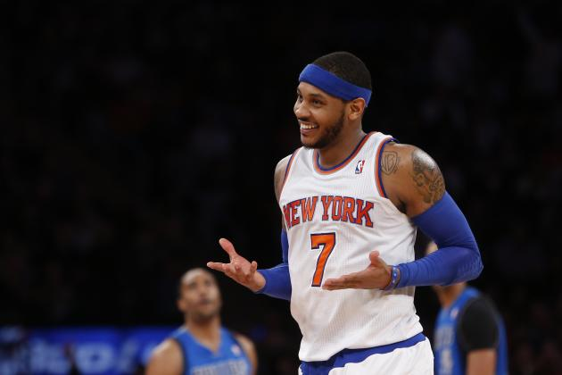 Carmelo Anthony Scores 35+ Points in 3 Straight Losses