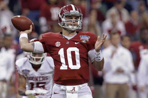 AJ McCarron Will Be Tremendous Bargain for QB-Needy Teams After Round 1
