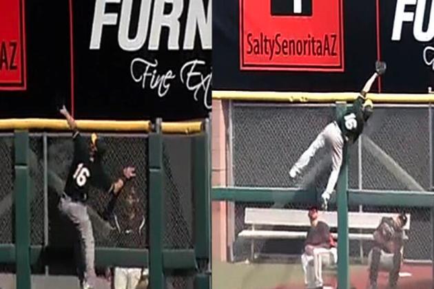 Athletics' Josh Reddick Robs Giants' Michael Morse Twice with Ridiculous Catches