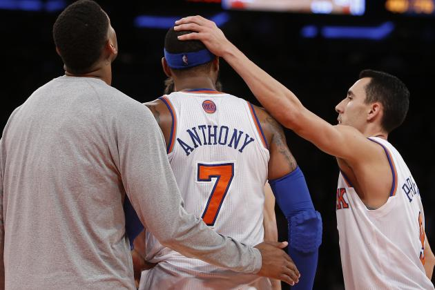 If Carmelo Anthony Wants a Max Contract, NY Knicks Should Say Good Riddance