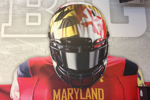 Maryland Facility Outfitted with New Big Ten Graphic