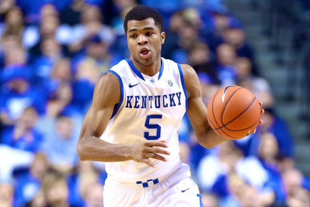 Kentucky Basketball: How Will Andrew Harrison Handle Postseason Pressure?
