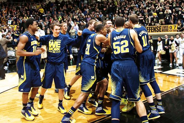 Michigan's Glenn Robinson III Sinks Purdue with OT Buzzer-Beater