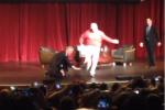 Watch: Will Ferrell Crashes Pete Carroll's Speech, Boots FG