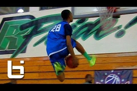 8th Grader Cassius Stanley Can Throw Down Acrobatic Dunks