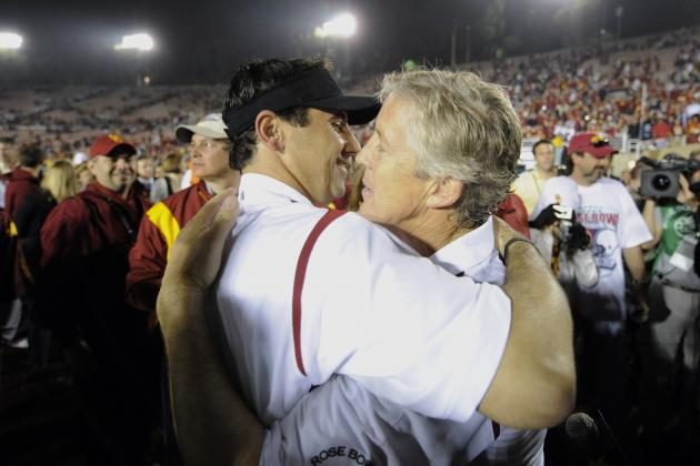 USC Football: Pete Carroll Supported Steve Sarkisian over Lane Kiffin