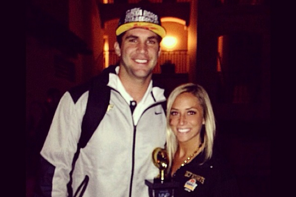 Blake Bortles Was Asked About Girlfriend by Teams at NFL Scouting Combine