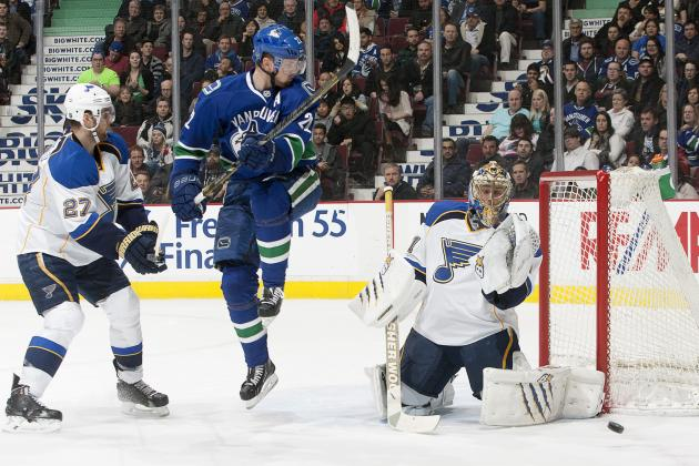 Canucks Snap Seven-Game Skid, Blank Blues