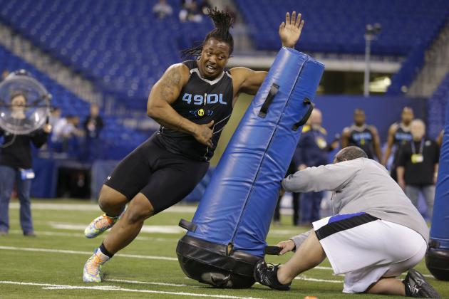 Updating Dallas Cowboys' 1st-Round Big Board Post Combine