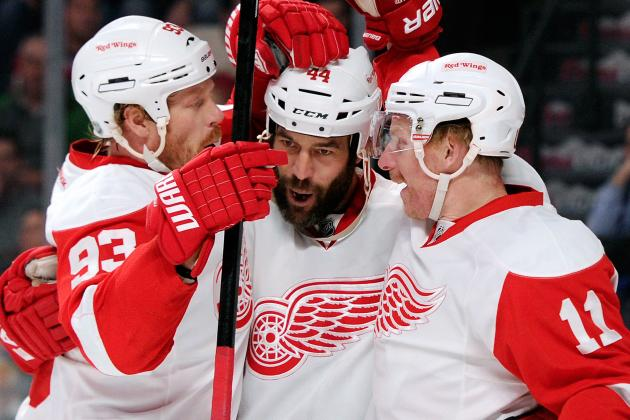 Red Wings Need Healthy Johan Franzen to Help Compensate for Zetterberg