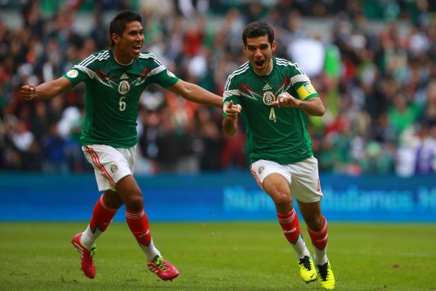 Mexico World Cup Roster 2014: Full 23-Man Squad and Starting 11 Projections