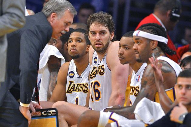 Mike D'Antoni Tells Pau Gasol Through Media to 'Keep It in House'