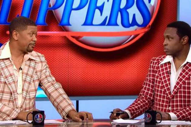 Jalen Rose and Avery Johnson Wore Ridiculous Jackets on 'NBA Countdown'