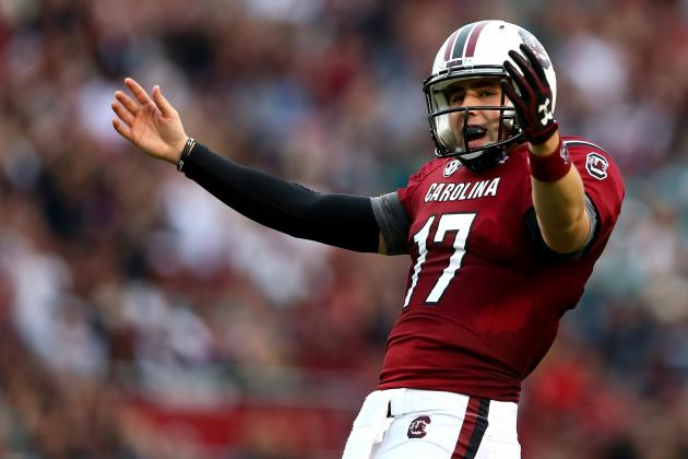 What South Carolina QB Dylan Thompson Needs to Work on This Spring