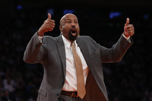Mike Woodson Believes in Math and the NY Knicks' Playoff Chances