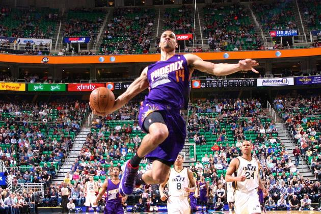Gerald Green Puts on His Own Dunk Show Against Utah Jazz