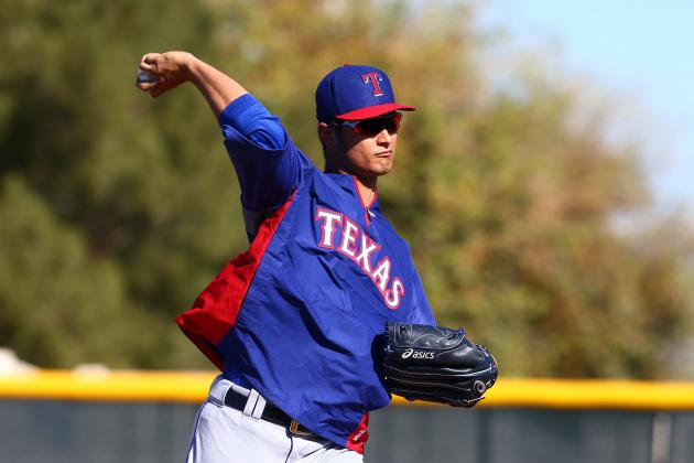 Texas Rangers Lineup Has an International Flair