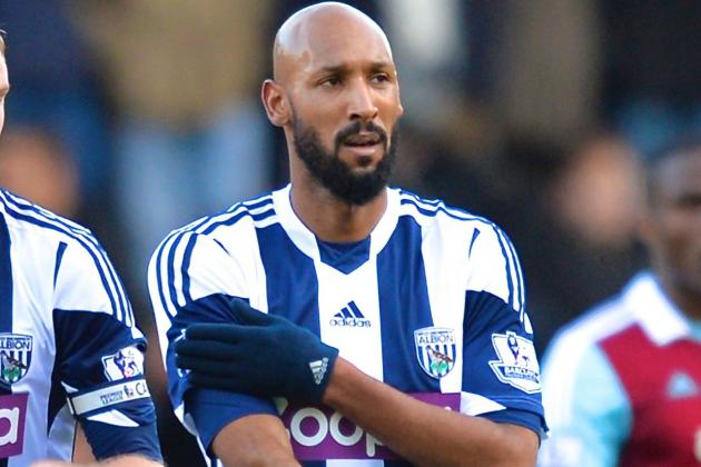 Nicolas Anelka Banned 5 Matches, Fined £80,000 for Quenelle Gesture