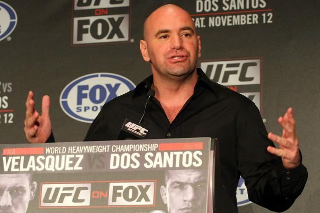 Dana White Says TRT in UFC Has to Go Away Because It 'Ruins Good Fighters'