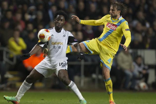 Napoli vs. Swansea City Score, Grades and Post-Match Reaction
