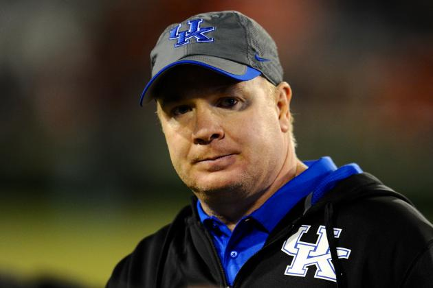 Mark Stoops Has Blueprint in Place to Rebuild Kentucky