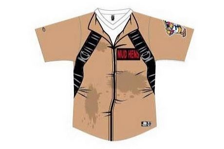 Toledo Mud Hens Will Wear 'Ghostbusters' Uniforms During Game in 2014